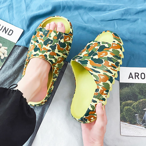 Men's Camouflage Outdoor Slippers | Beach & Home Slides