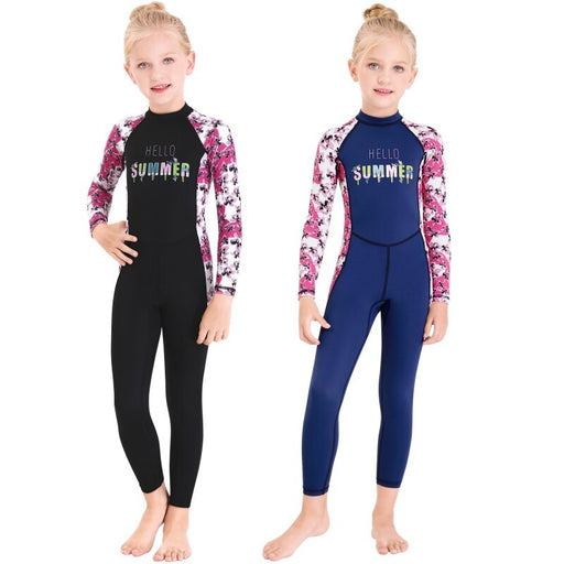 Kids Diving Suit Neoprenes Wetsuit Children For Keep Warm One-piece Wetsuits UV Protection Swimwear