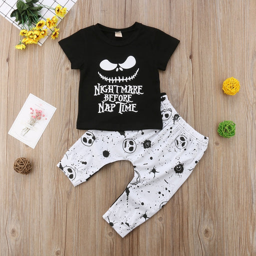 Baby Kids Halloween T-Shirt & Pant Set | Kids Casual Outfits