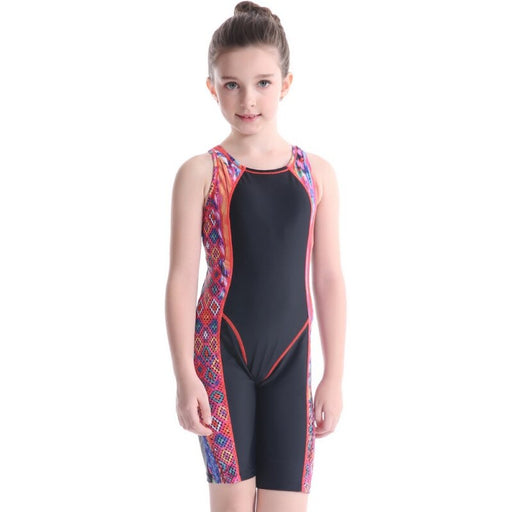 Girl Rash Guard Swimwear Cooling Children Kid Sunproof Swimsuit Beach Swimming Racing Surfing Suit Nylon Spandex
