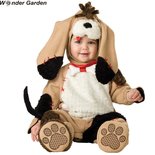 Baby Boys Puppy Dog Jumpsuit | Halloween Cosplay Costume