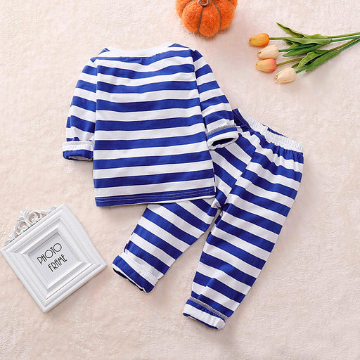 Newborn Kids Striped Sleepwear | Halloween Winter Dress Set