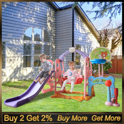Kids Indoor & Outdoor Slides & Swings | Kids Playground Set