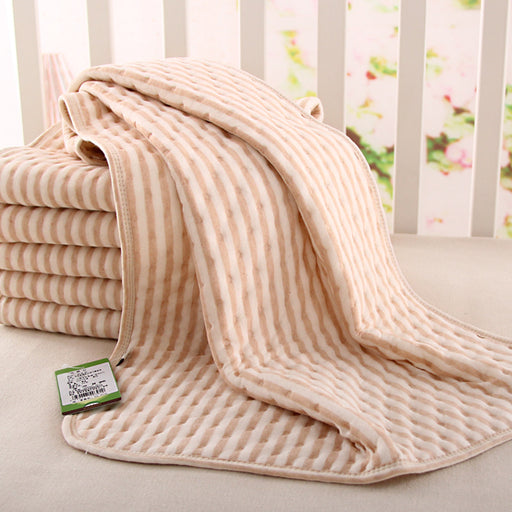 Organic colored cotton + Waterproof EVA Layer Baby Changing Mat Bebe Waterproof Changing Urine Pad Bed Sheets for Newborn - KiddyLanes