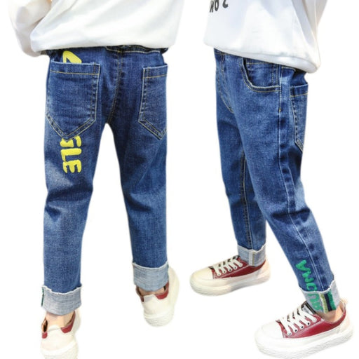 Unisex Casual Jeans | Kids Denim Pants & Trouser Bottoms
