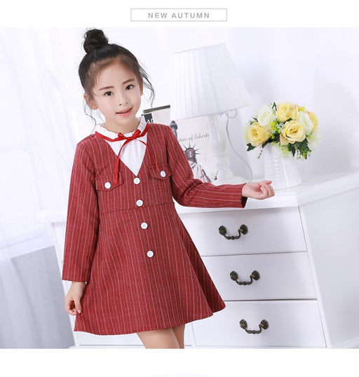 Girls Lace Turtleneck Dress Winter Autumn Ball Gown Dress Long Sleeve Warm Outerwears robe fille For 2 4 6 8 10 12 Years
