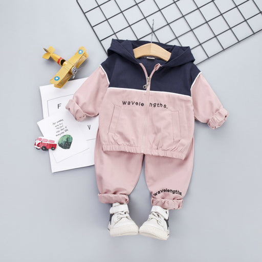 Baby Boys & Girls Hooded Jacket & Pants | Kids Track Suits Set