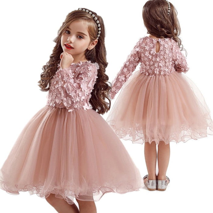 Party wear Girl dresses | Petal Design Dresses for Girls |  Girls Wedding Frocks