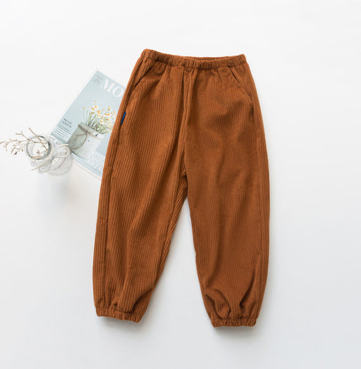 Unisex Winter Pants | Boy Girl Fashion Corduroy Warm Pants & Trousers