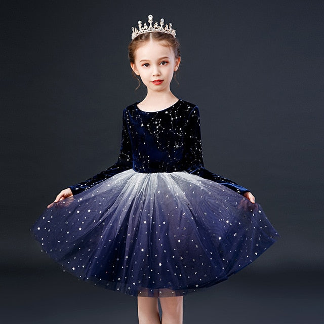 Girls Party Wear Casuals | Princess Wedding Frilled Gowns