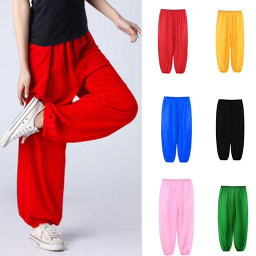 Unisex Dance Costume | Kids Baggy Trouser Harem Pants