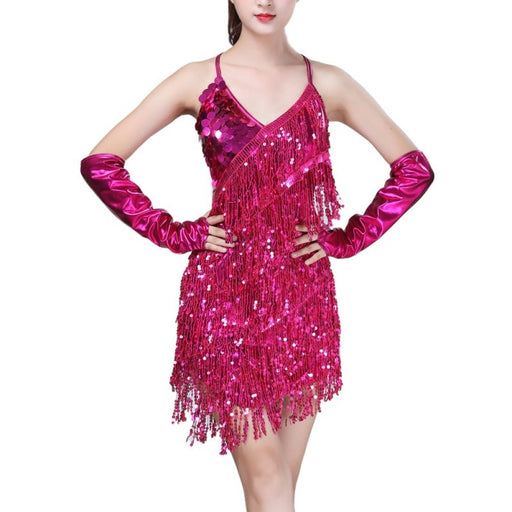 Girls Ballroom Tango Cha Cha Dance Costume | Rumba Salsa Dress