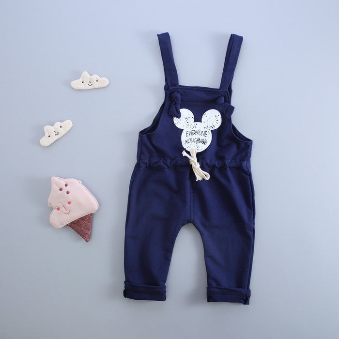 Spring new fashion cotton baby pants 1 piece - KiddyLanes
