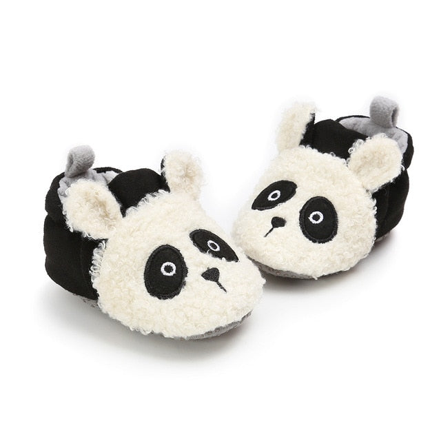 Newborn Animal Pattern First Walker Shoes | Warm Cotton Shoes
