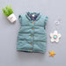 Autumn Winter Children Clothes Girls Outerwear Coats Girl Kids Vest Jackets Baby Warm Waistcoat Veste Enfant - KiddyLanes