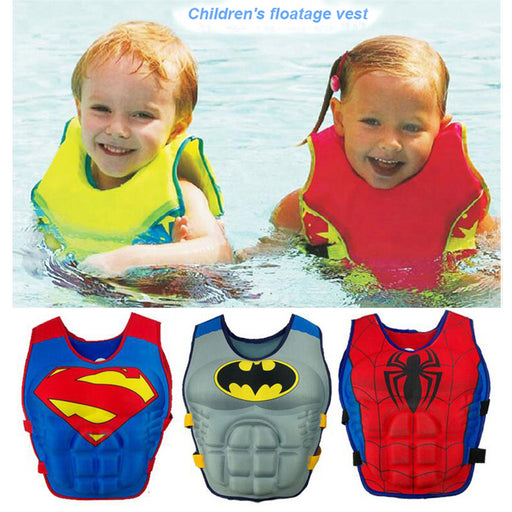 2-6 Years Baby Swim Vest Float Kid Swim Trainer Boy Girl Buoyancy Swimwear Child Life Vest Buoy Swimming Circle Pool Accessories - KiddyLanes