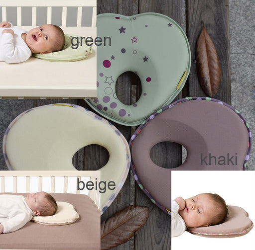 Hot infant head support kids shaped headrest sleep positioner anti roll cushion nursing pillow baby pillow to prevent flat head - KiddyLanes