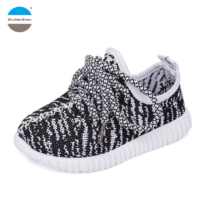 1 to 6 years old children's casual shoes kids sports shoes baby boys girls fashion walking shoes infant prewalker moccasins - KiddyLanes