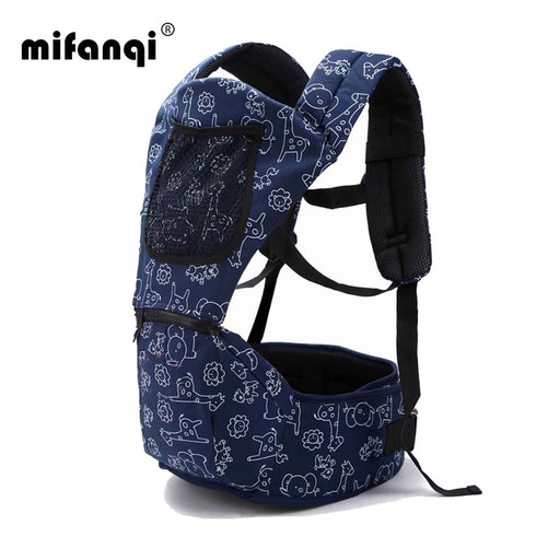 Baby Carrier 4-6 Months Front Carry Portabebes Manduca Cotton&Polyester New Baby Infant Newborn Adjustable Solid Zaino Rugzak - KiddyLanes