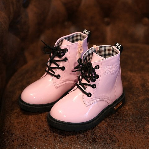 1 - 3 years old baby girls boots kids fashion boots children's boots brand high quality martin boots newborn toddlers shoes - KiddyLanes