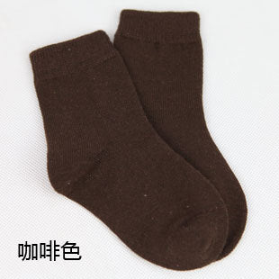 20 pieces=10 pairs 1-9 year children socks spring&autumn cotton baby girls socks with boys socks Solid Color kids Sport Socks - KiddyLanes