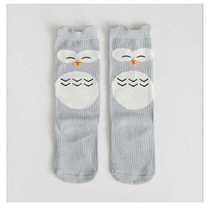 Kids Fox Socks knee high Toddler Boot Sock leg warmer Totoro socks Girl Collant enfant Children Chaussette Cute Moustache Socks - KiddyLanes