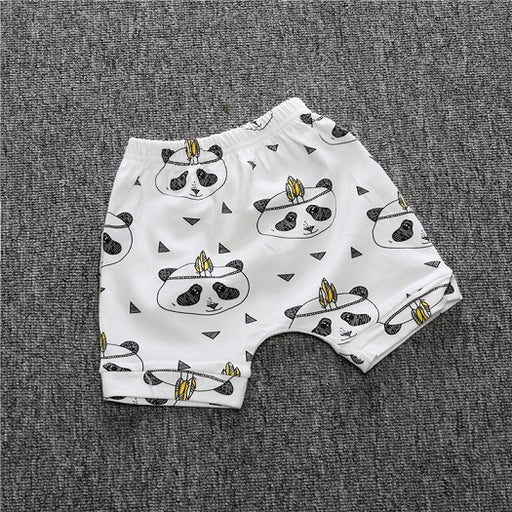 Brand Baby Boy Shorts Girls Shorts Baby Bloomers Summer Kids Girls Boys Shorts the Lodge Feather Pattern Kids Summer pants BP140 - KiddyLanes