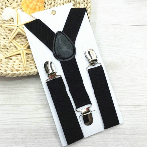 Cute Print Mustache Suspenders Belts For Kid Strap Adjustable Elastic Clip On Baby Boy Clothing Accessories - KiddyLanes
