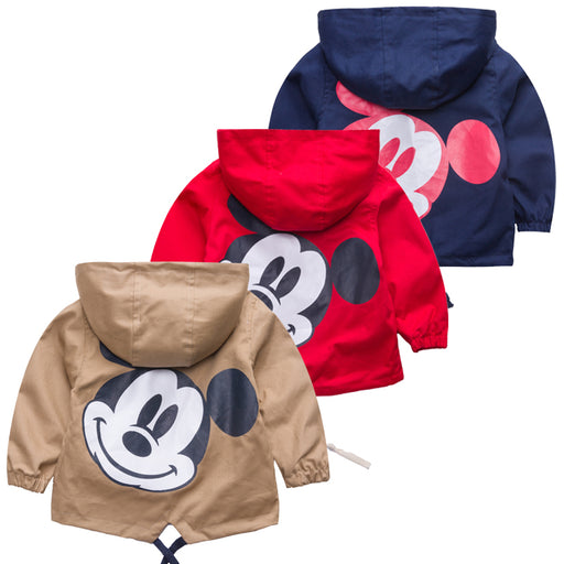 New jacket coat spring autumn children's jacket print baby boy clothes children tops outwear kids clothes - KiddyLanes