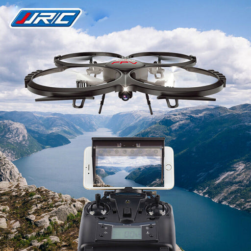 Rc Drone U818A Updated version dron JJRC U819A Remote Control Helicopter Quadcopter 6-Axis Gyro Wifi FPV HD Camera VS X400/X5SW - KiddyLanes