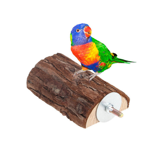 Pet Parrot Wooden Bird Cage Perches Stand Platform Parakeet Budgie Rat Play Toy  -Y102 - KiddyLanes