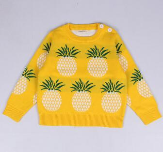 CAMPURE Fashion Winter Sweater Pineapple lovers Kids - KiddyLanes