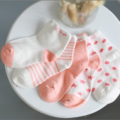 10PCS =5 Pairs Pack new Summer Baby Socks Fashion Mesh Children Kids Socks - KiddyLanes