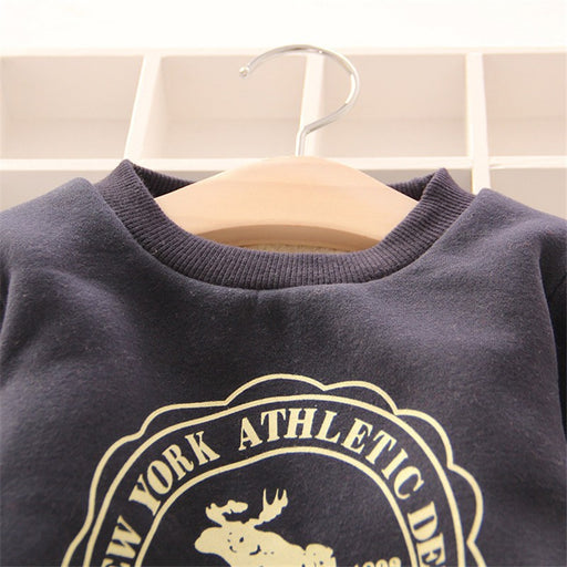 Baby Boys Girls Hoodies Clothes Children Winter Thick Sweatshirts