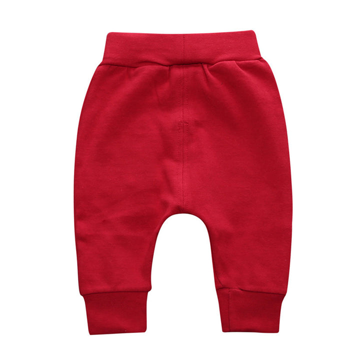Fall Winter Newborn Infant Baby Boys Girls Thick Pants Bloomers long Pants - KiddyLanes