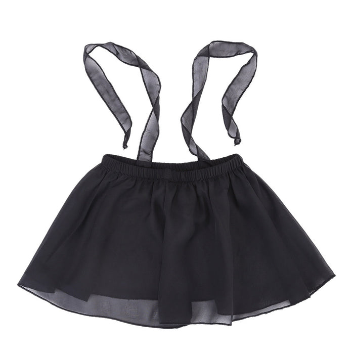 Infants Girls Summer Gauze Suspender Sleeveless Tops - KiddyLanes