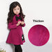 Autumn Winter Cotton Cashmere Dress Thicken Long Sleeve Toddler Girl Dresses Princess Costume - KiddyLanes