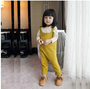 Spring Bobo Style Baby Overalls 0-5yrs Boys Girls Cotton Harem Knitted Pants Baby Kids Toddlers PP Pants Baby Harem Pants - KiddyLanes