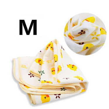 (3 Sizes) Newborn Baby Changing Pad Urinal Pad For Infant Child Bed Waterproof Cotton Cloth diaper inserts Changing Mat For Crib - KiddyLanes
