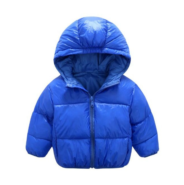 2 colors !!! Boys Jacket winter coat Children's outerwear winter style baby Goys and Girls Warm Coat Clothes for 2-6 yrs - KiddyLanes