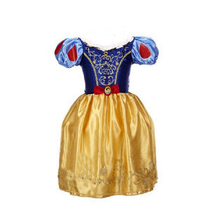 Baby Girl Anna Elsa Dress High-Grade Princess Cinderella Fancy  kids clothes for Christmas Party Costume Snow Queen Cosplay - KiddyLanes