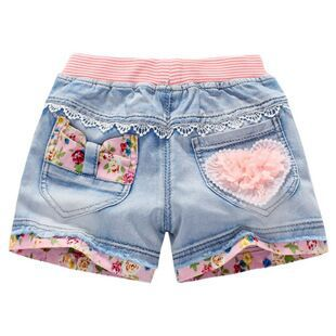 Summer New fashion girl jeans top quality jeans kids shorts , girls shorts for 5-15year shorts children - KiddyLanes