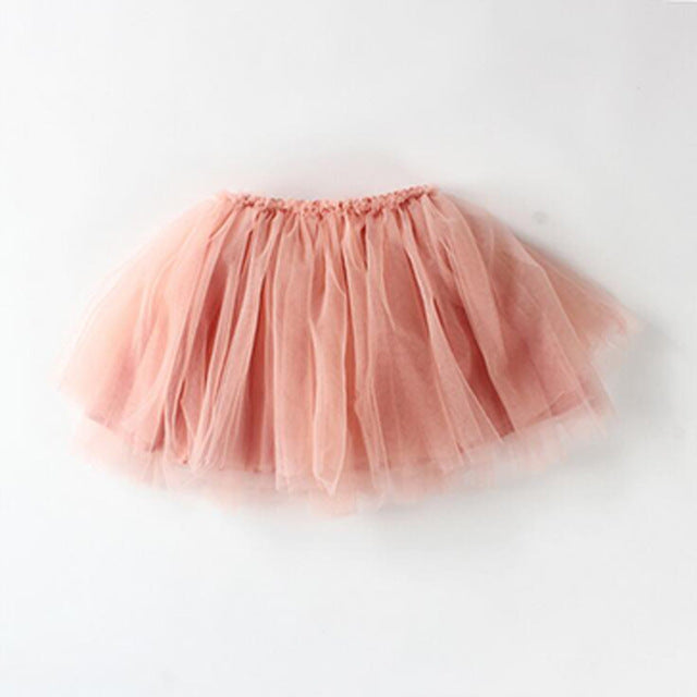 MOLIXINYU New Fashion Baby Skirt Princess Baby Girl Clothes Children Girl Fluffy Chiffon Tutu Dance Skirts Pettiskirt For Kids - KiddyLanes
