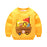 Autumn Baby Girls boy Clothing Cartoon car Printed Long Sleeve Newborns Sweater Boy Girl Thicker Top Shirts Sweatshirt - KiddyLanes