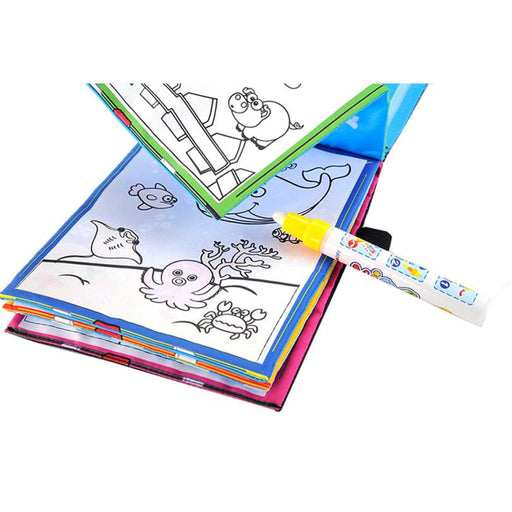 Coloring book Kids Animals Painting Magic Water Drawing Book Water Coloring Book Water Drawing Book Doodle - KiddyLanes