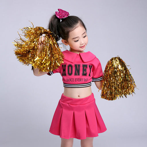 Kid Children Academic Dress Primary School Uniforms Set Kid Student Costumes Girl Dr Suit Graduation Cheerleader Suits For Girl - KiddyLanes