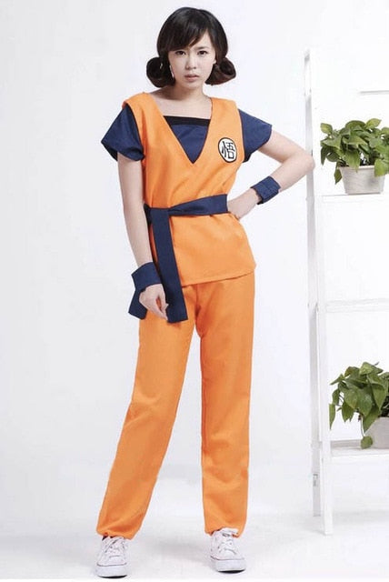 Dragon Ball Z Suit Wigs Halloween Costumes Goku Costume