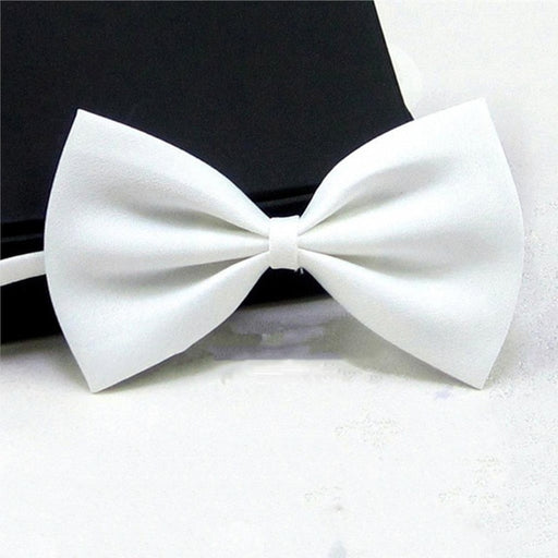Children Bowtie Gentleman Boy's Solid Color Bow Ties Fashion Bowknot Kid Clothing Accessories Cravat - KiddyLanes
