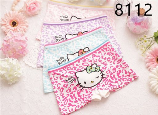 4 PCS/lot baby  baby girl child's for girls underpants shorts nurseries children's boxer Underwear kids pantie - KiddyLanes