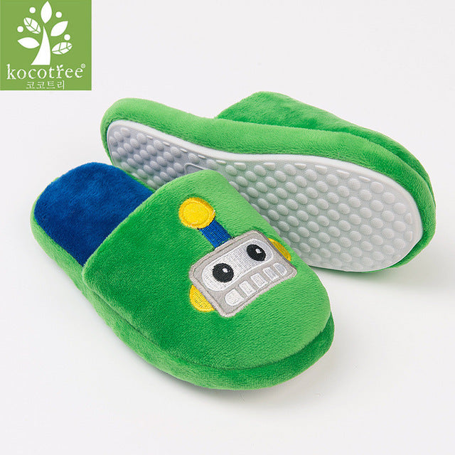 hot product stable quality hot sale Winter kids slippers boys girls slippers children warm soft sole boys girls  shoes kid cute cotton slippers high quality